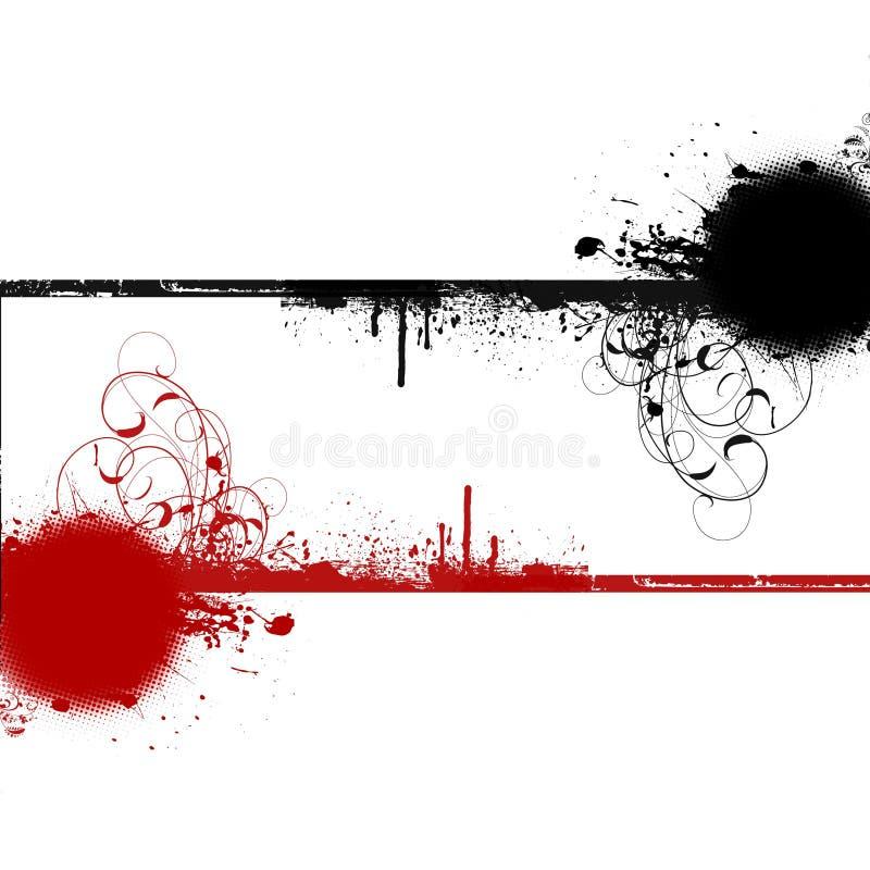Free Red Black Swirls Copyspace Background Stock Photos - 14459623