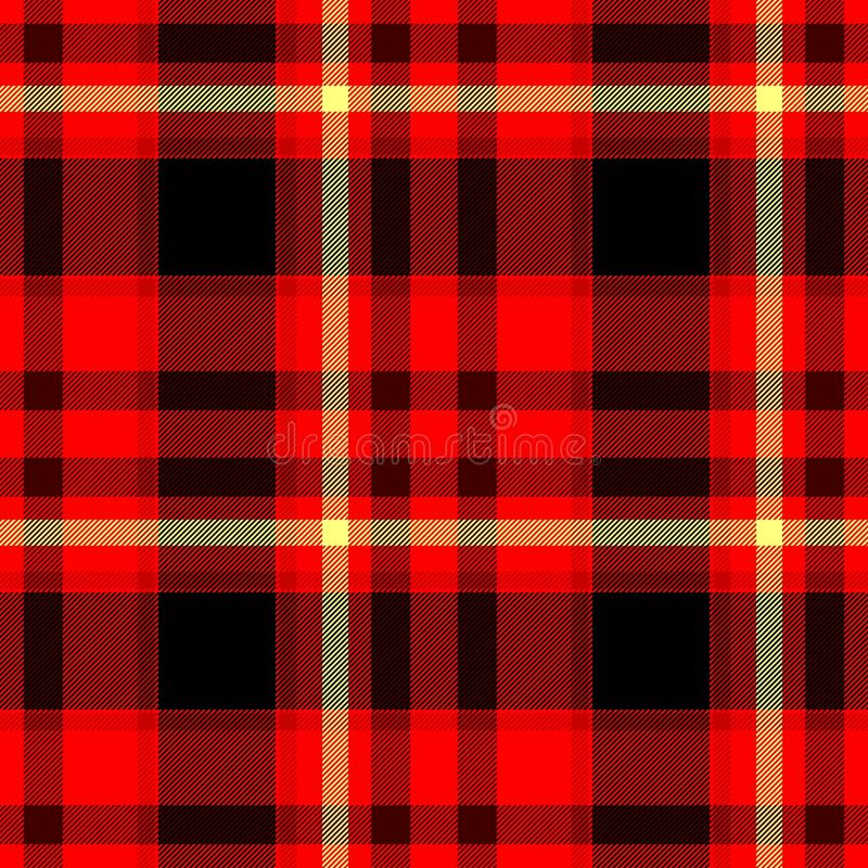 red black yellow checkered diamond tartan plaid seamless pattern texture stock illustration. Black Bedroom Furniture Sets. Home Design Ideas