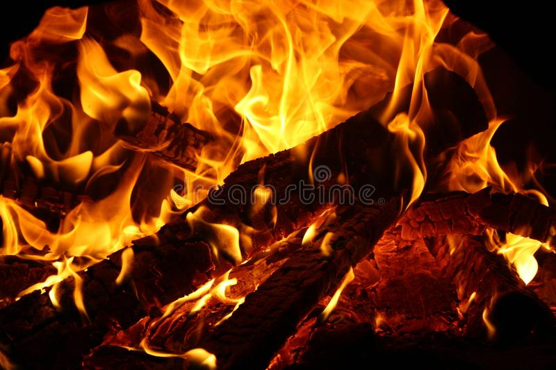 Red blaze stock images