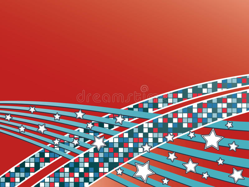 Download Red and blue background stock vector. Illustration of gradient - 12670019