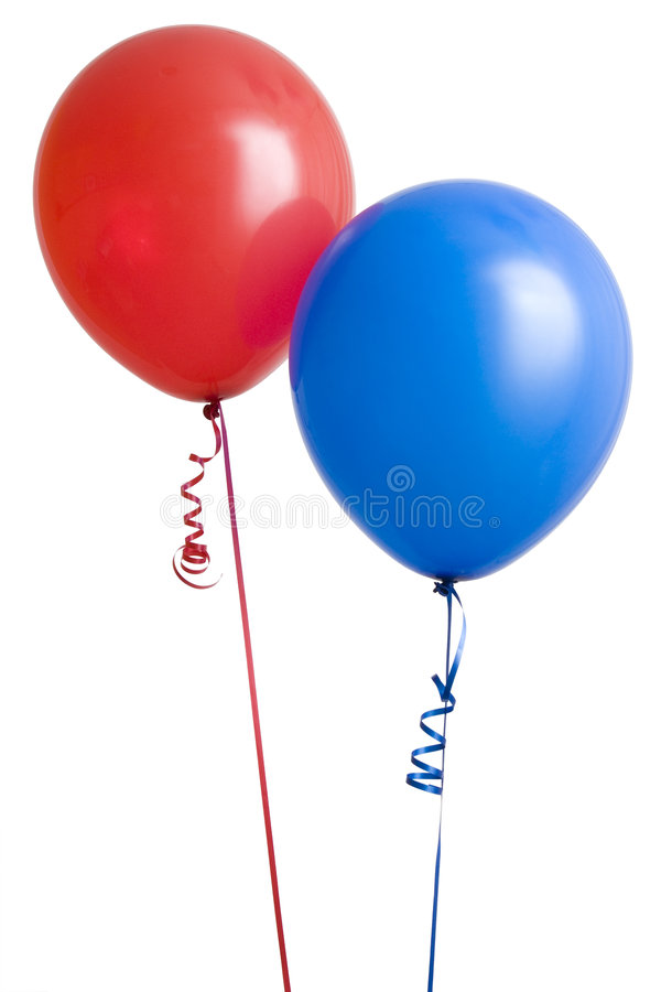 Download Red and Blue Balloon stock image. Image of float, decoration - 6222837