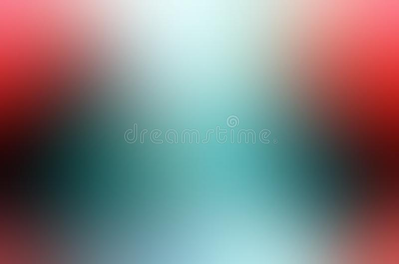 Red and blue blur abstract shaded background wallpaper, vector illustration. stock images