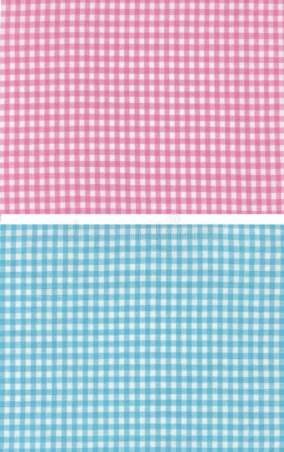 Red blue checkered royalty free stock photography