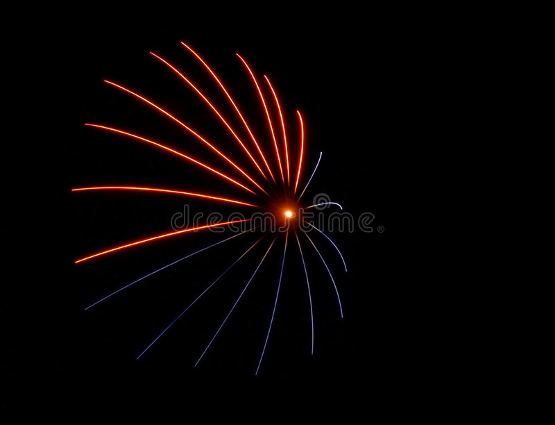 Download Red Blue Flare - Fireworks Royalty Free Stock Images - Image: 7219
