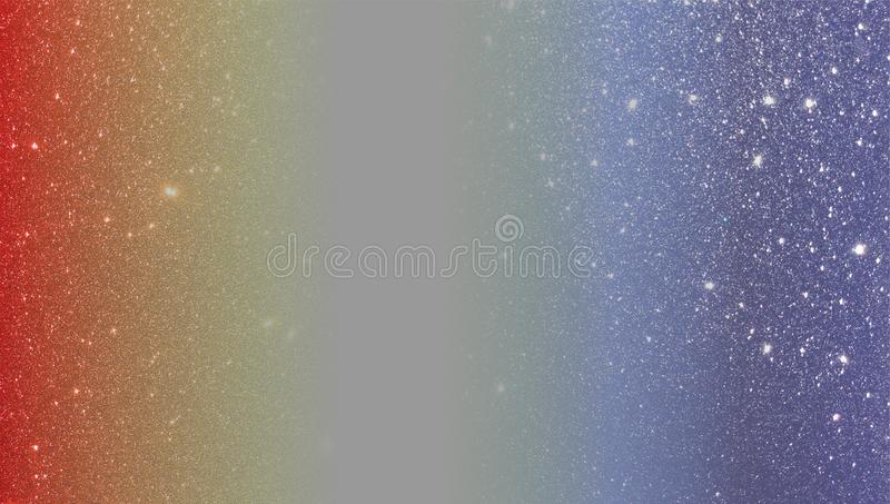 Red and blue glitter textured background. wallpaper. royalty free stock photo