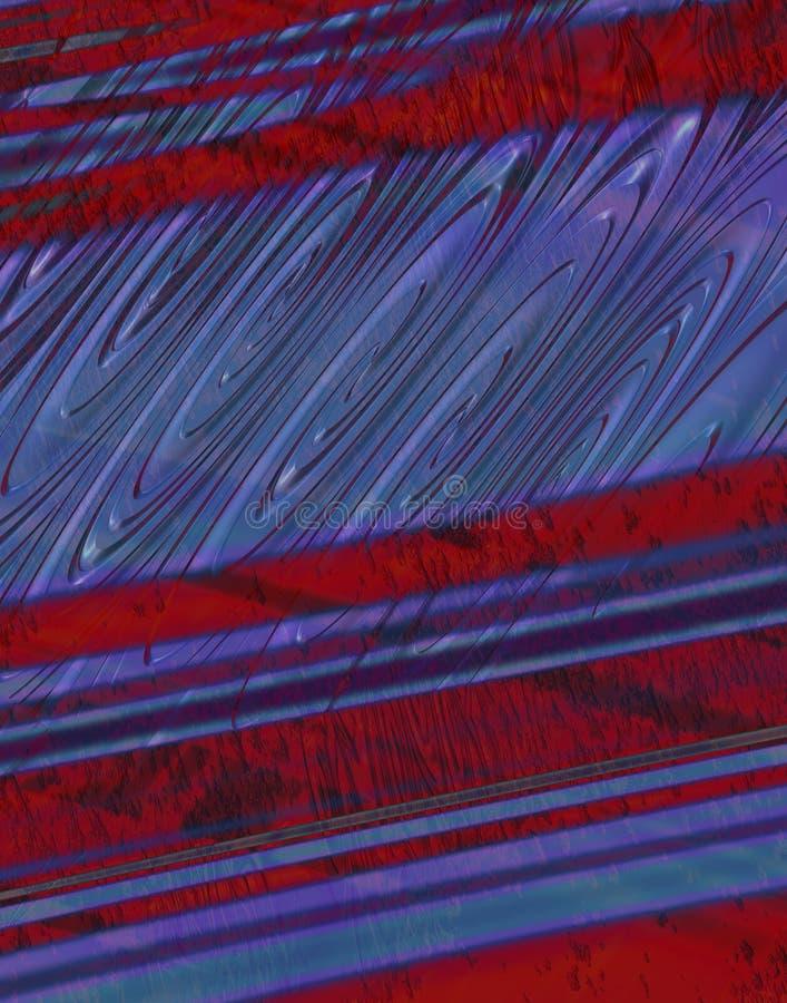 Download Red Blue Grunge Background stock illustration. Image of striped - 582258