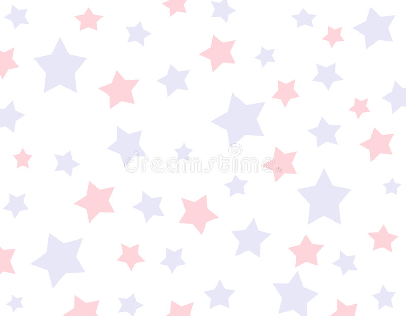 Red And Blue Star Background Stock Photo