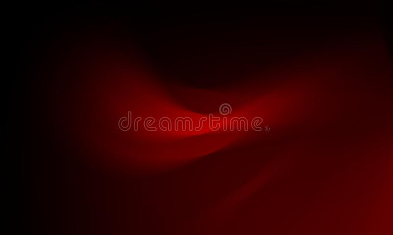 Red blur abstract background vector design, colorful blurred shaded background, vivid color vector illustration. royalty free illustration