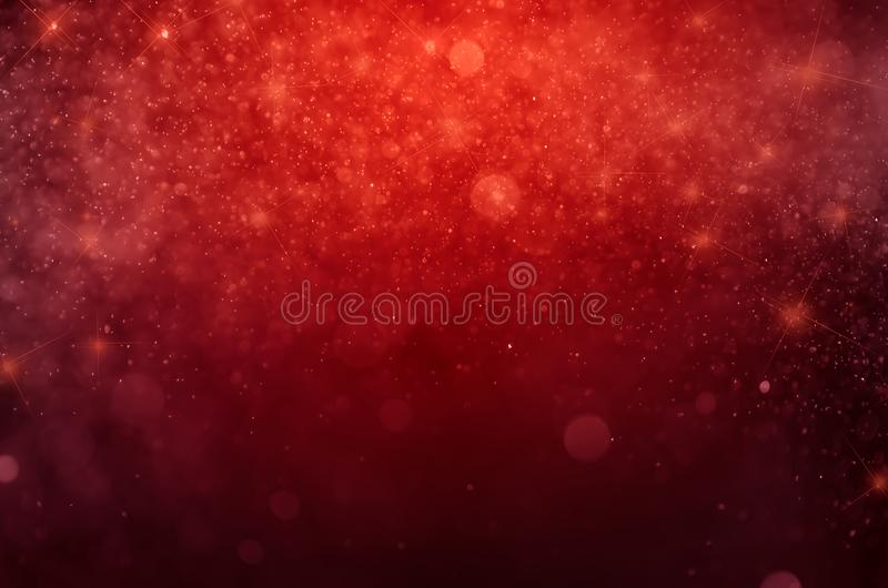 Red bokeh abstract background.Blue bokeh vector illustration