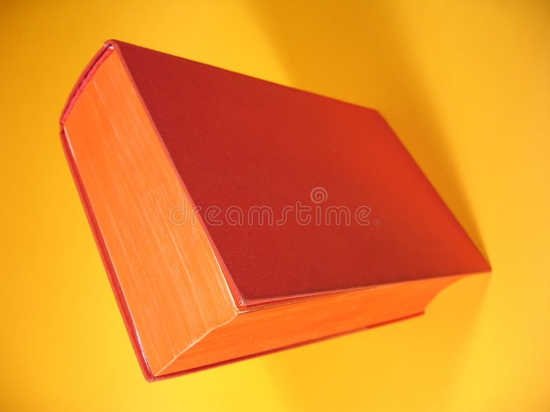 Download Red Book stock image. Image of poetry, yellow, close, stories - 14119
