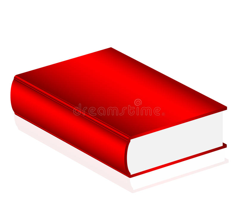 Red book stock illustration