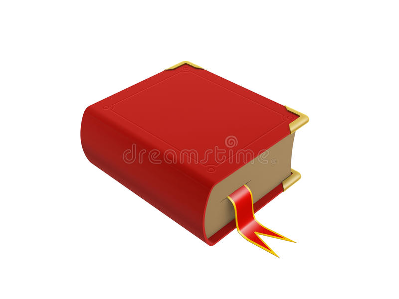 Download Red book stock illustration. Illustration of library - 25651958