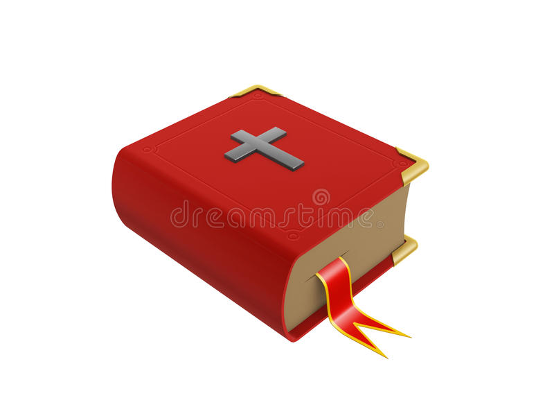 Download Red book stock illustration. Image of bible, dictionary - 25651967