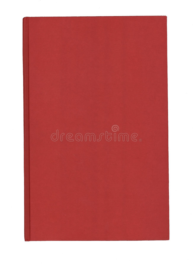 Red book cover royalty free stock photo