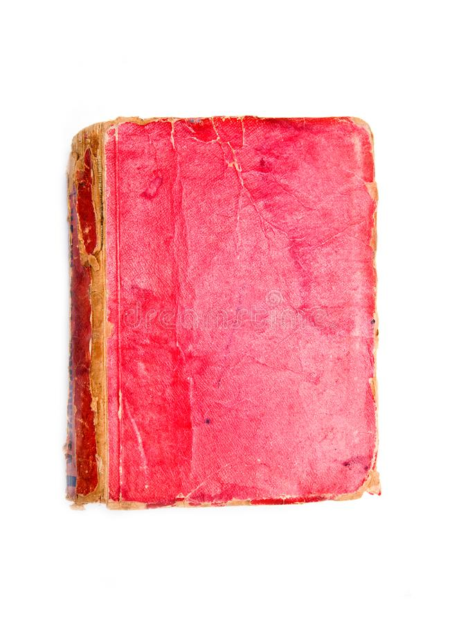 Red book cover stock image