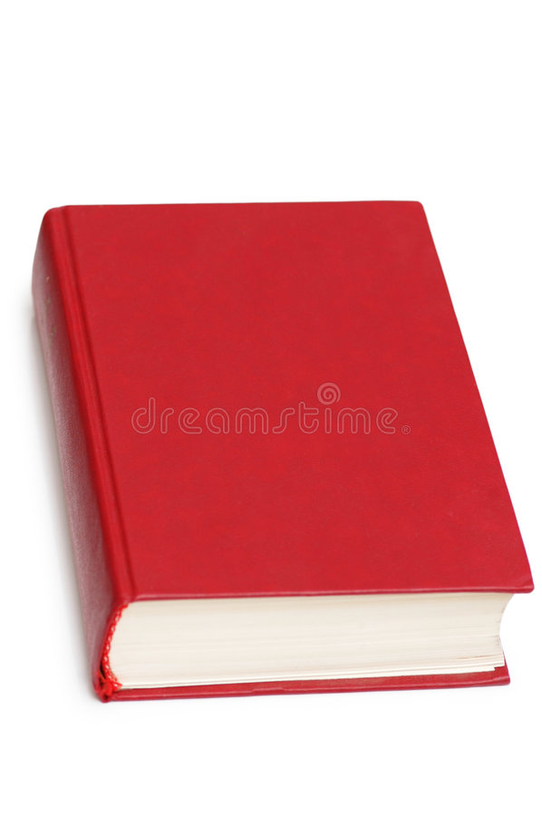 Download Red book isolated stock image. Image of design, back, diary - 2620401
