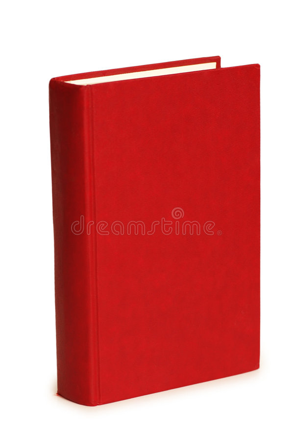 Download Red book isolated stock image. Image of school, document - 2739551