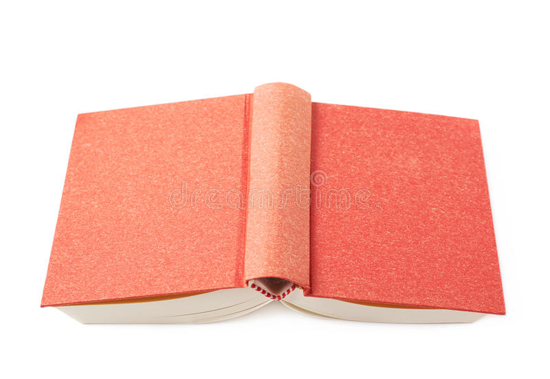 Red book isolated stock photography