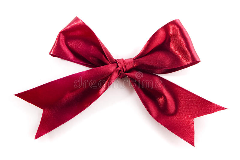 Download Red Bow stock photo. Image of knot, decorative, length - 18472486