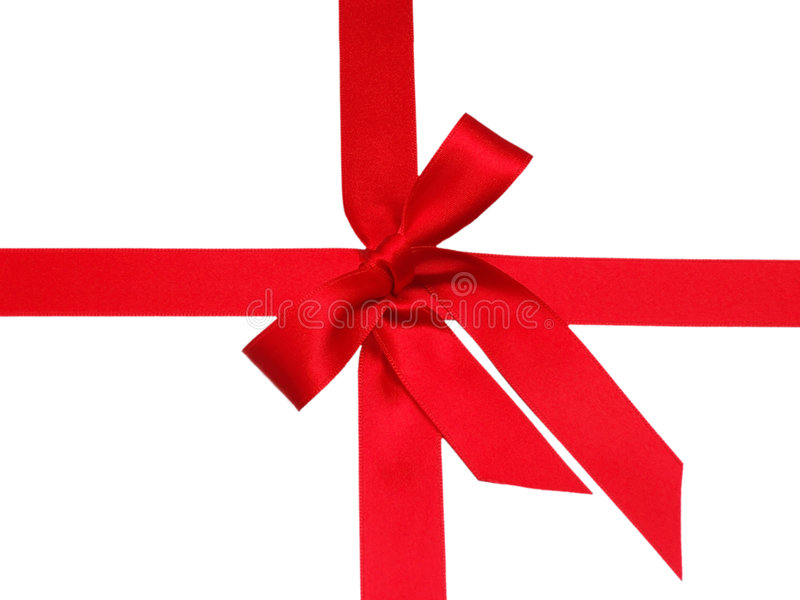 Download Red bow 2 stock photo. Image of bind, birthday, bound, present - 669554