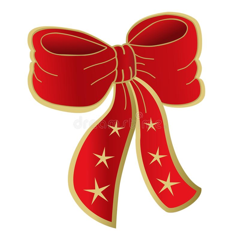 Download Red Bow Isolated stock illustration. Image of decoration - 20830230