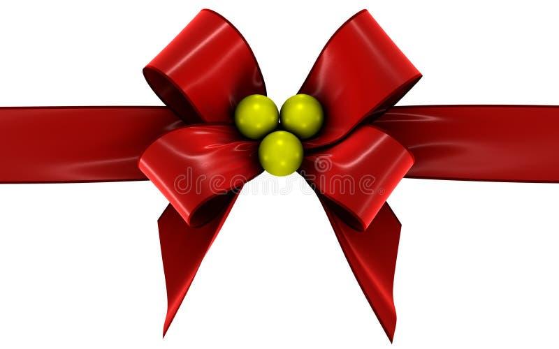 Download Red bow stock illustration. Illustration of velvet, bright - 21559267