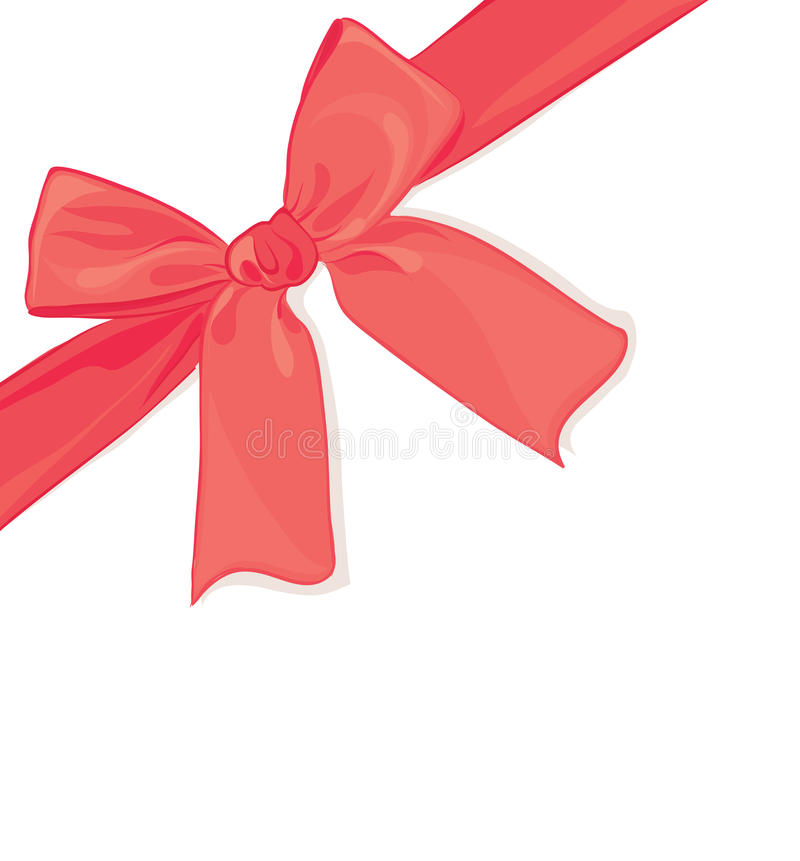 Download Red bow stock vector. Illustration of congratulation - 23460765