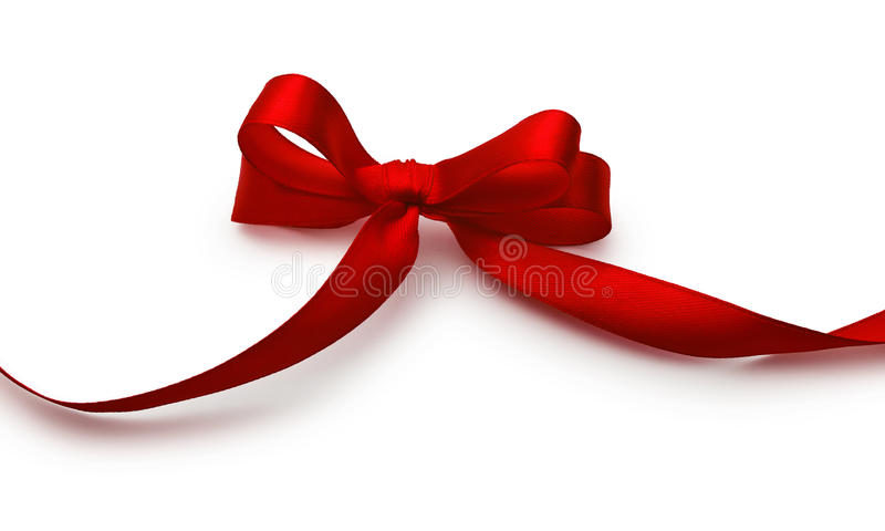 Download Red bow stock image. Image of xmas, colour, decoration - 27630141