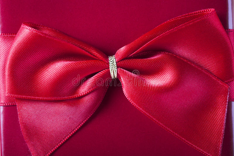 Download Red Bow stock photo. Image of nobody, festive, xmas, package - 28471458