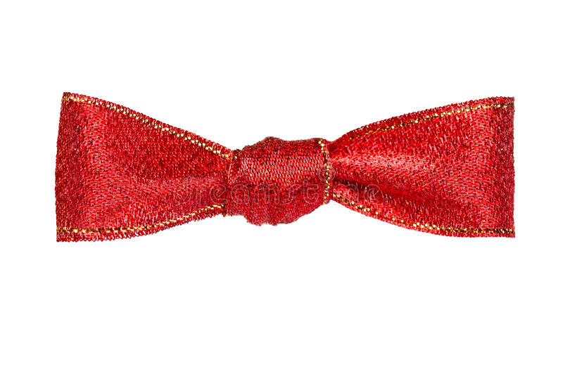 Download Red bow stock image. Image of isolated, satin, ornate - 28480083