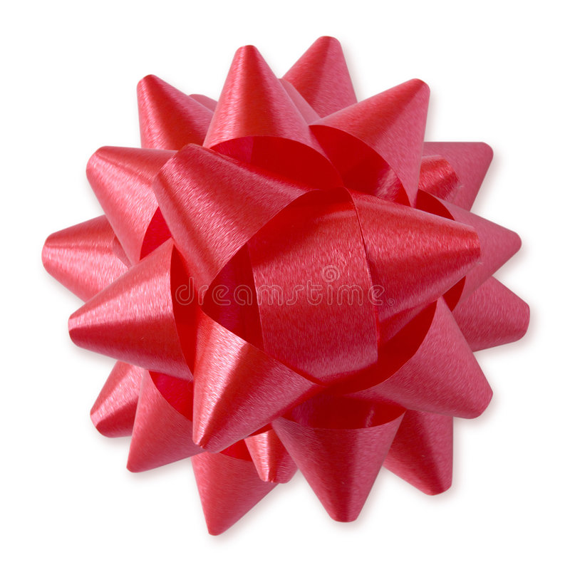 Download Red Bow (+clipping path) stock image. Image of design - 1608107