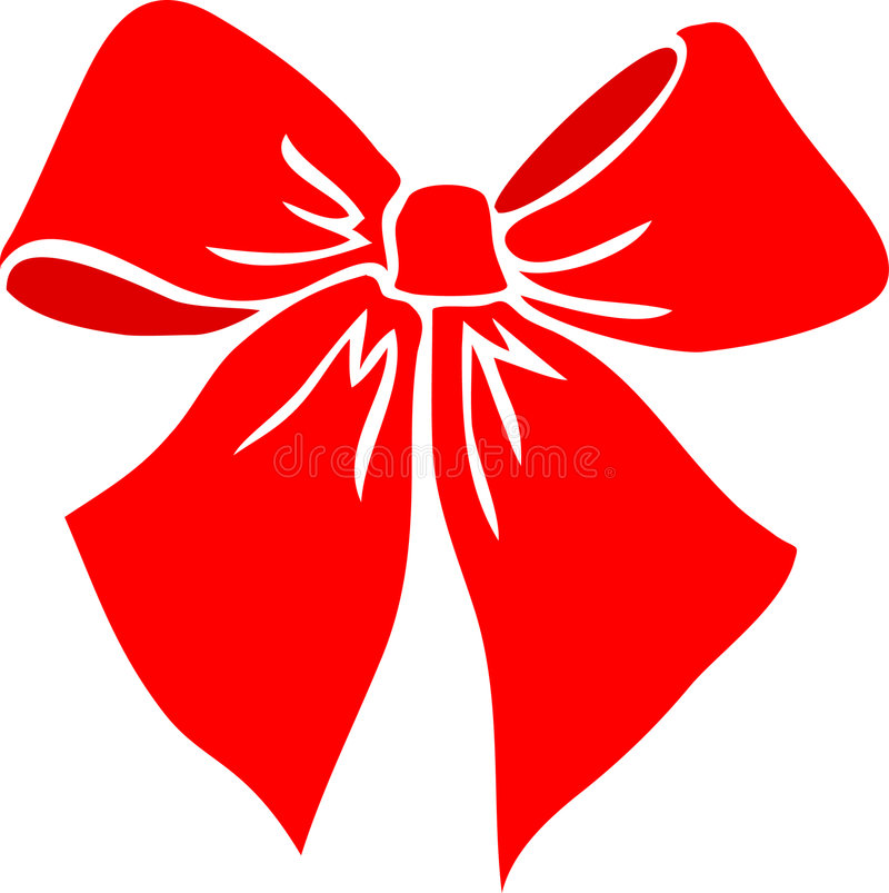 Free Red Bow/eps Stock Image - 362731