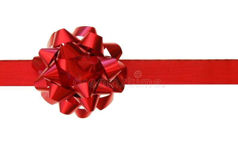Download Red bow, gift stock image. Image of present, celebration - 7970701