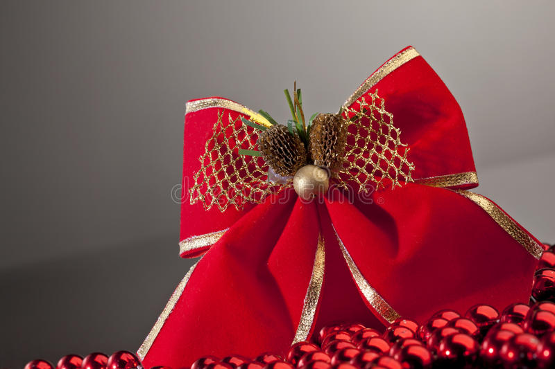 Download Red Bow On Gradient Background Stock Image - Image: 16886751
