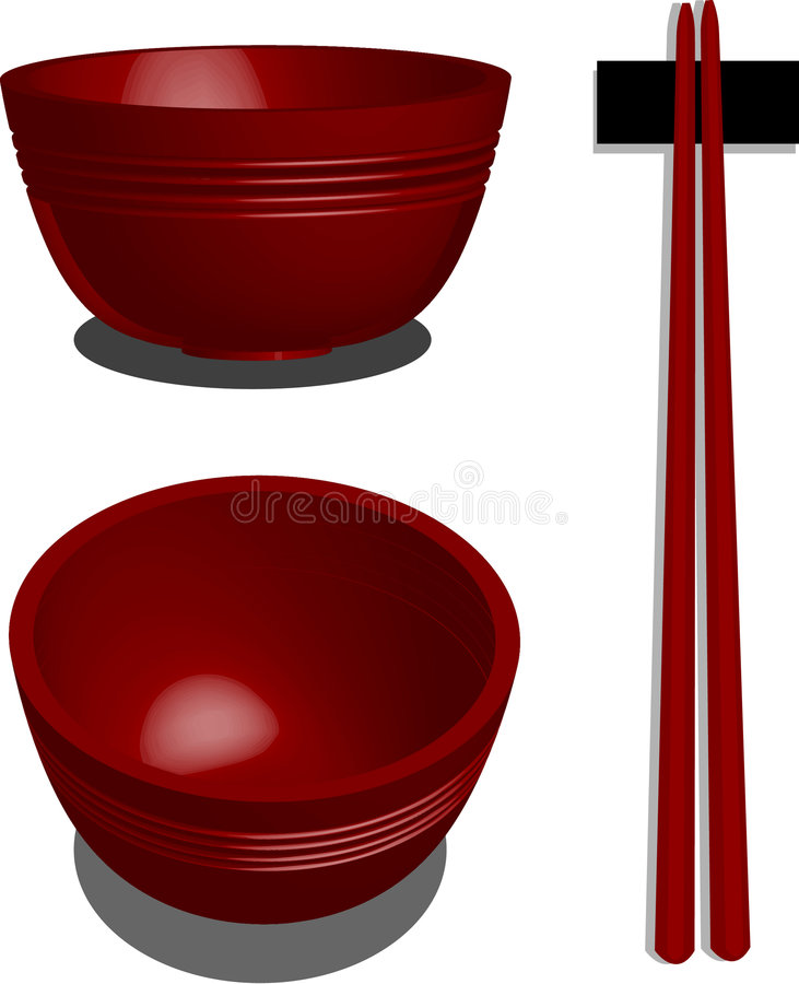 Download Red Bowl Stock Photo - Image: 3907170