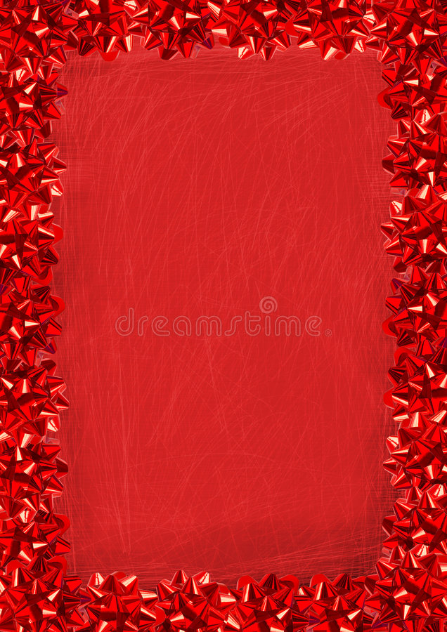 Free Red Bows Border Royalty Free Stock Photos - 1244698