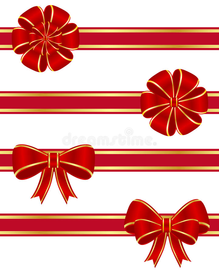 Free Red Bows Collection Stock Image - 17758301