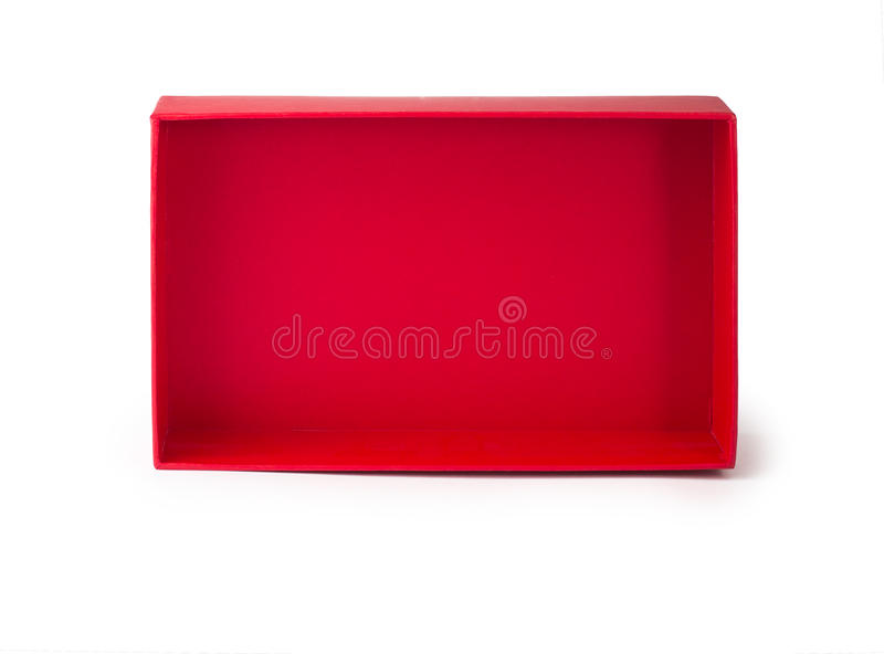 Red box stage royalty free stock photo