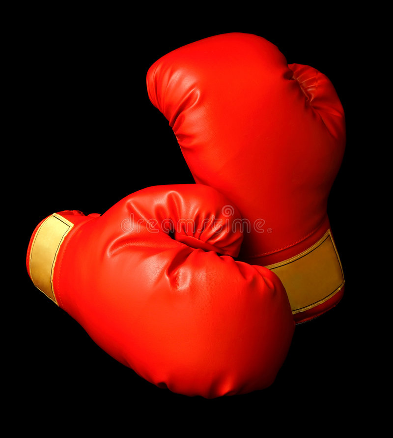 Download Red Boxing Gloves stock image. Image of fighting, martial - 2289425