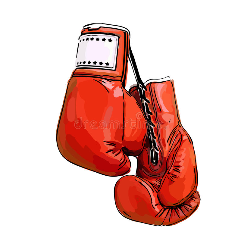 Free Red Boxing Gloves Royalty Free Stock Image - 82957636