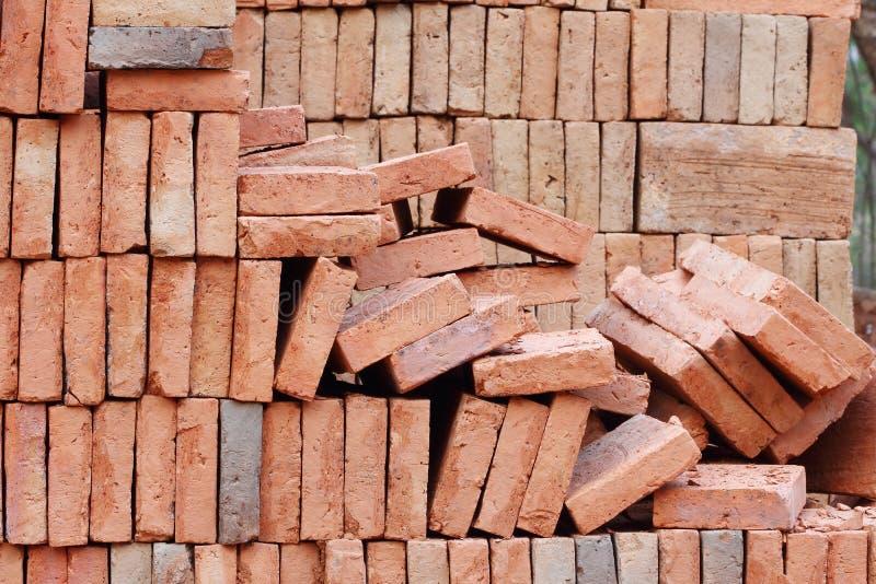 Download Red brick stock photo. Image of crash, garbage, grunge - 25309246
