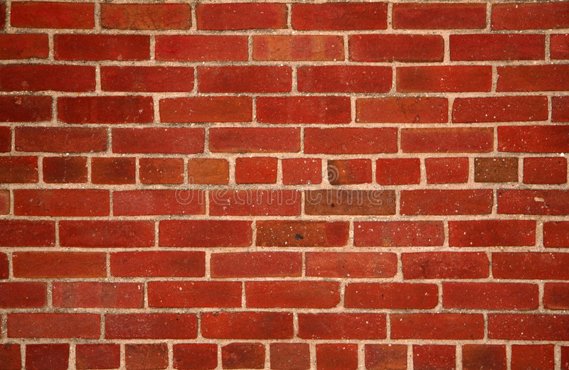 Red Brick Background royalty free stock photography