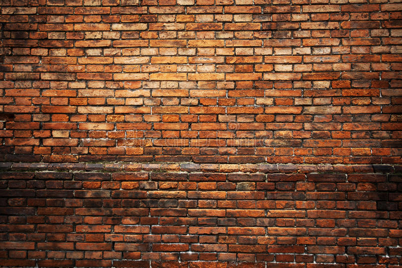 Red brick background royalty free stock images