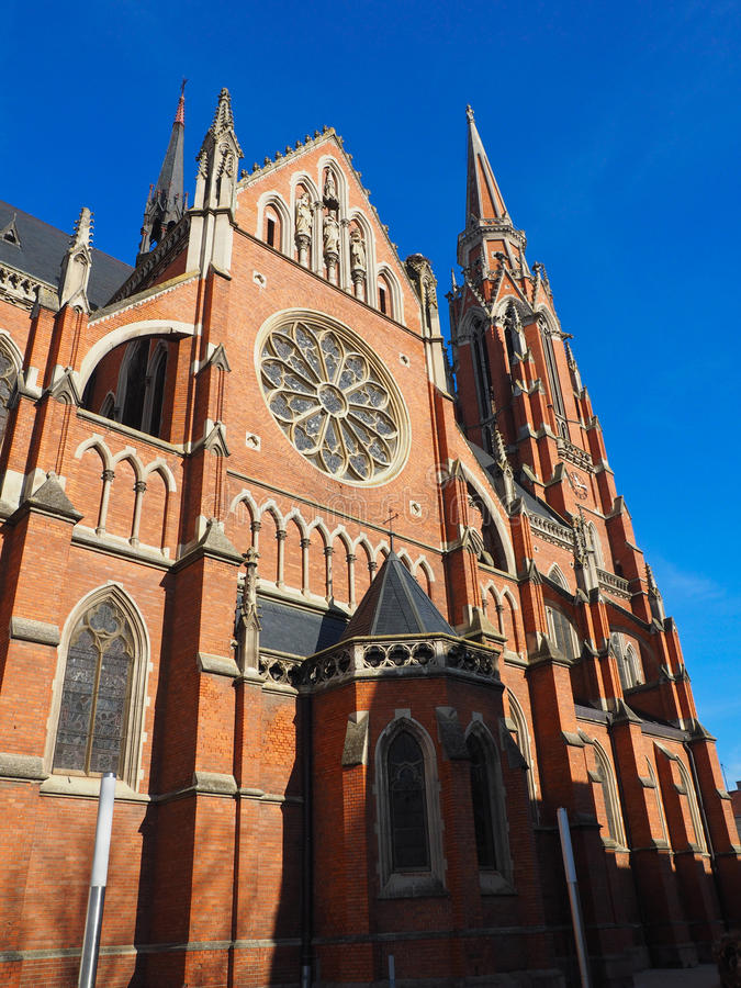 Free Red Brick Church Stock Images - 48940404
