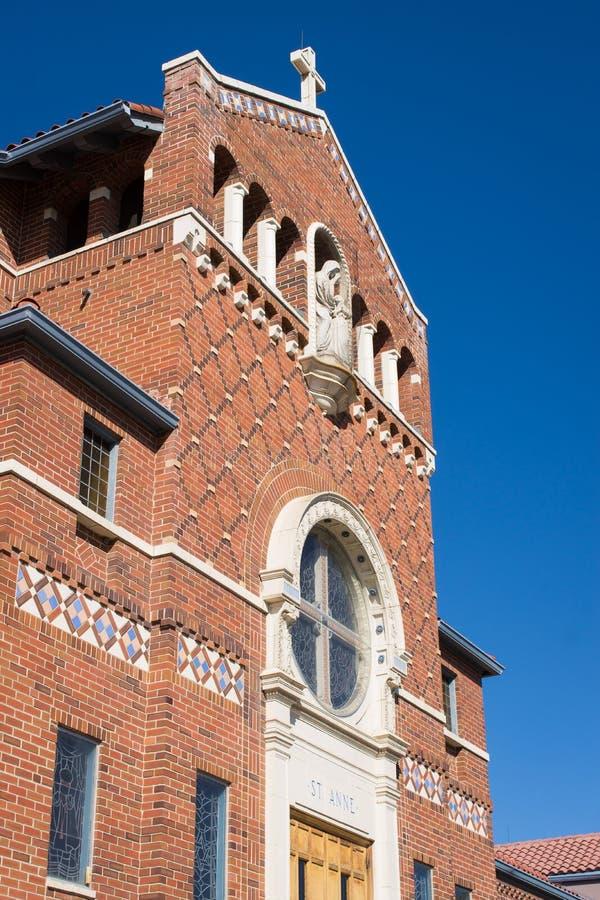 Free Red Brick Church Facade Stock Photos - 106855043