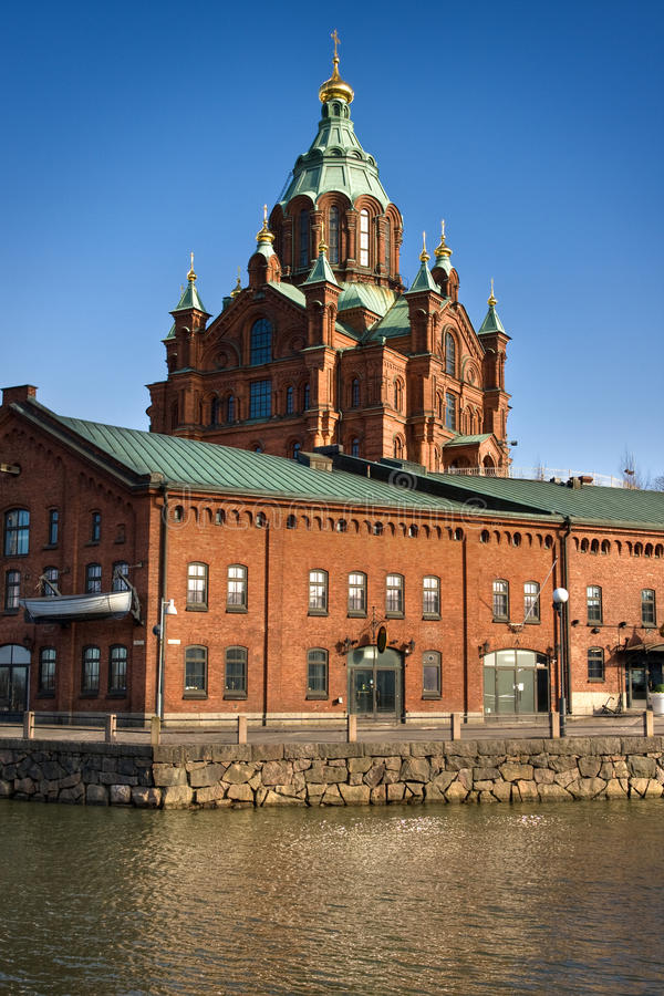 Free Red Brick Church In Helsinki Royalty Free Stock Image - 14386056