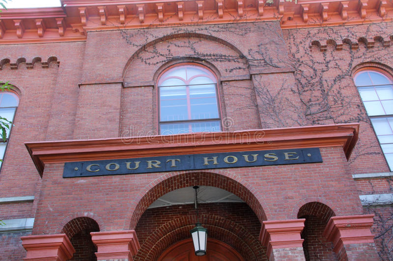 Download Red Brick Court House, From Below, Downtown Keene, New Hampshire Stock Photo - Image of brick, building: 59464044