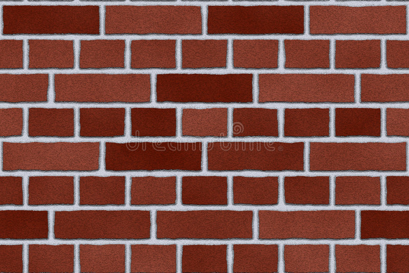 Download Red brick exterior wall stock illustration. Image of seamless - 5050158