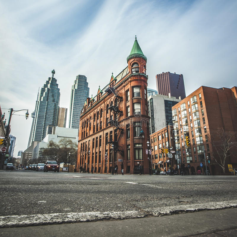 Download The Red-brick Gooderham Building Stock Photo - Image: 66679070