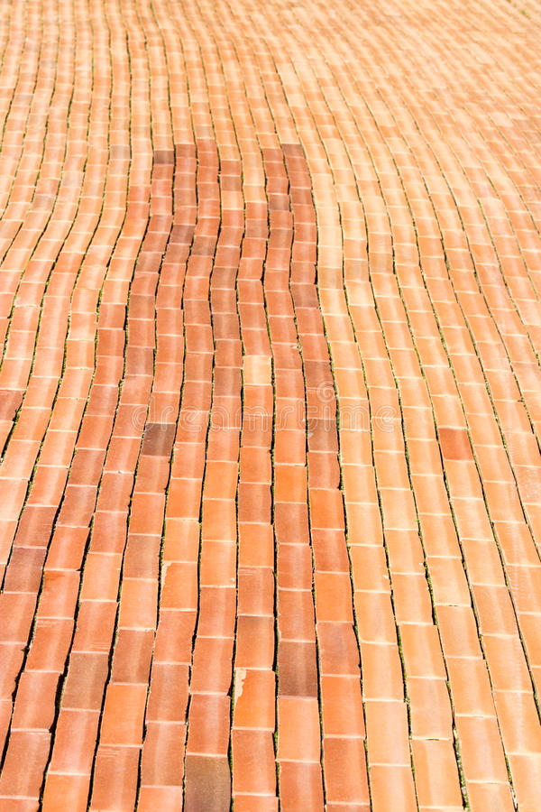 Download Red brick sidewalk stock photo. Image of backgrounds - 25913406